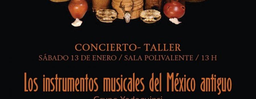 Los instrumentos musicales del México antiguo