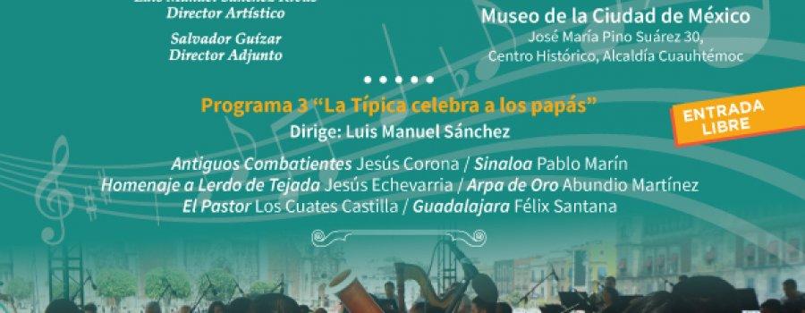 Concierto de la orquesta Típica de la Ciudad de México