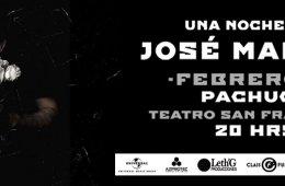 Una noche con José Madero