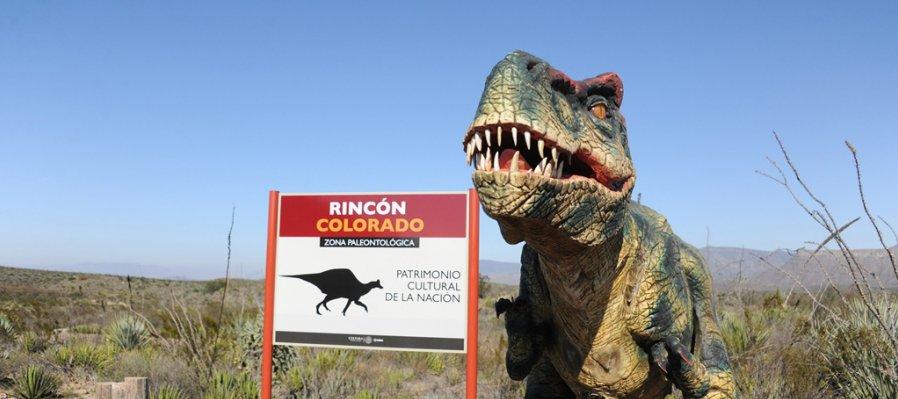 Rincón Colorado. Land of the Dinosaurs