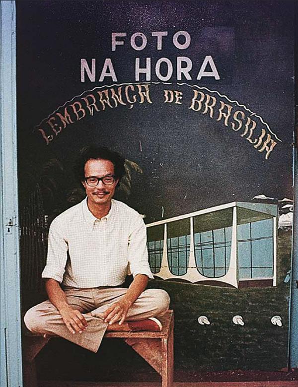 Foto instantánea. Recuerdo de Brasilia