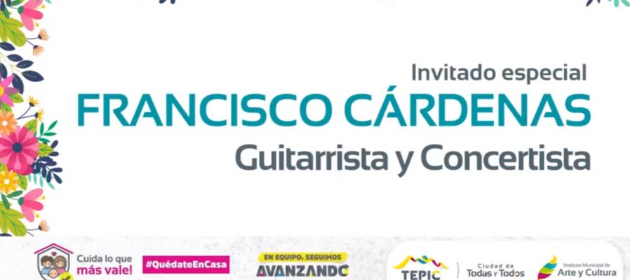 Recital de guitarra con Francisco Cárdenas