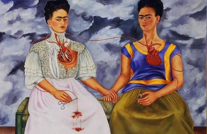 """Explicación del cuadro """"Las dos Fridas"""" de Frida Kahlo"""