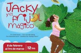 Jacky y el frijol mágico