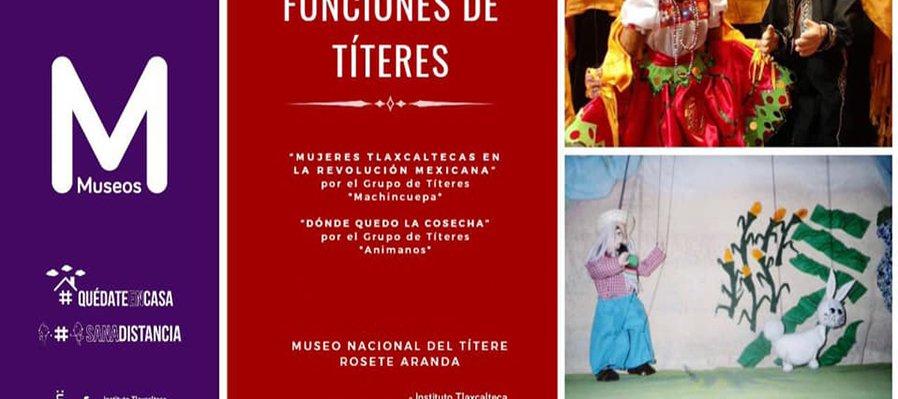 Funciones de títeres: Mujeres tlaxcaltecas en la revolución