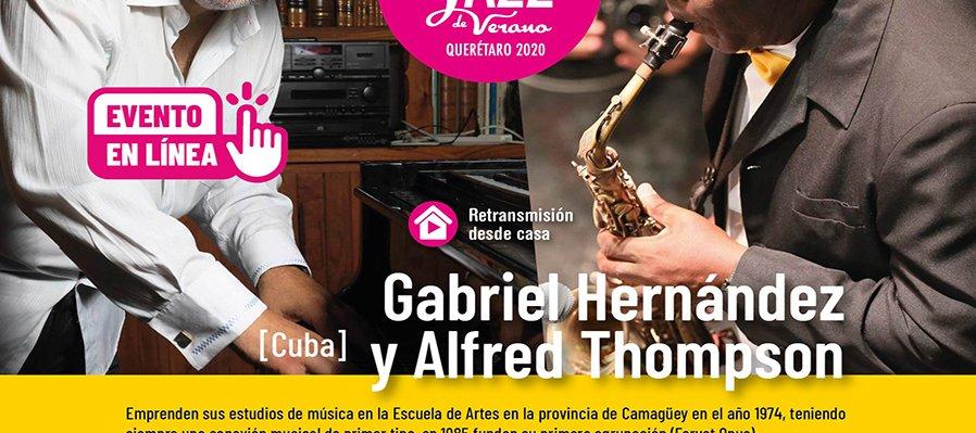 Gabriel Hernández y Alfred Thompson