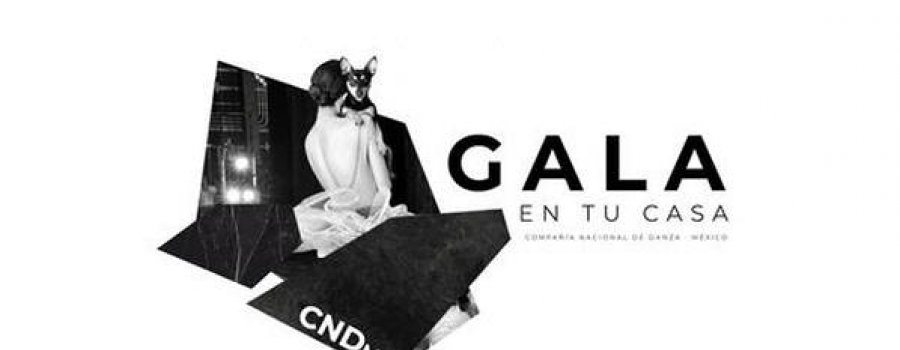 Gala en tu casa. Primera gala digital de la CNDMX