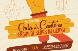 2do Concurso Gala de Canto en Lengua de Señas Mexicanas