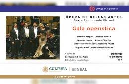 Gala operística. Ramón Vargas XXV aniversario