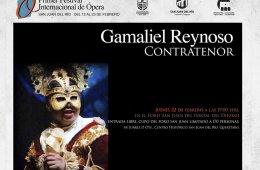 Contratenor Gamaliel Reynoso