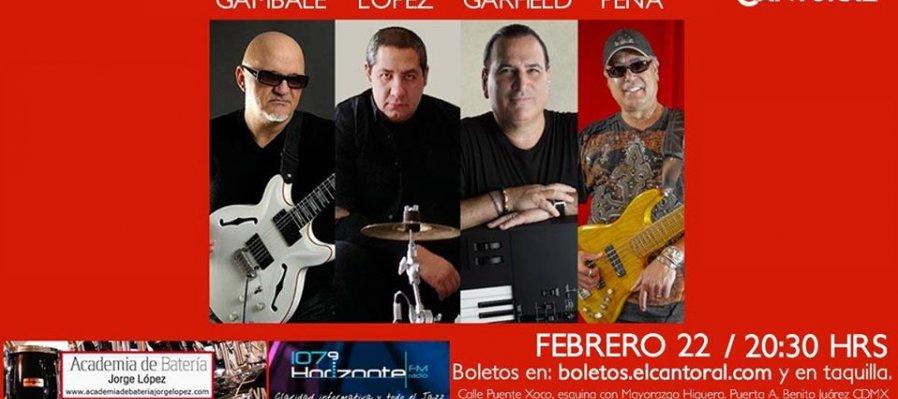 Frank Gambale, Jorge López, David Garfield y John Peña