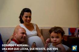 Gerardo y Adriana. Un amor que lucha… que resiste… qu...