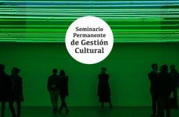 Seminario Permanente de Gestión Cultural