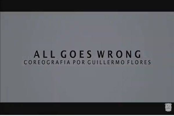 Danza contemporánea: All goes wrong