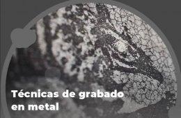 Técnicas de grabado en metal. 4. Aguatinta con betún de...