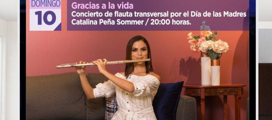 Gracias a la vida: Concierto de Flauta transversal por el Día de las Madres