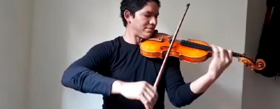 "Greimer Parra interpreta la banda sonora de ""Hércules"""