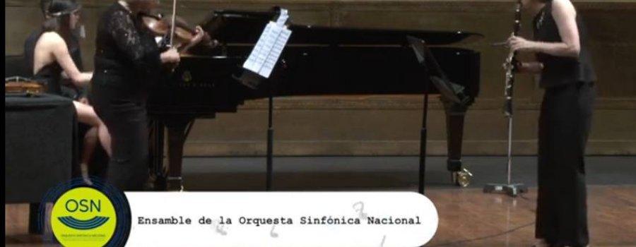 Grupos de cámara desde el Palacio de Bellas Artes / Orquesta Sinfónica Nacional