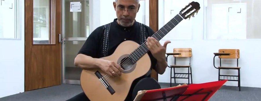 Curso de guitarra: sesión 3