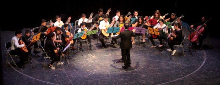 Concierto con la Orquesta Infantil y Juvenil de Guitarras: Guitarrie