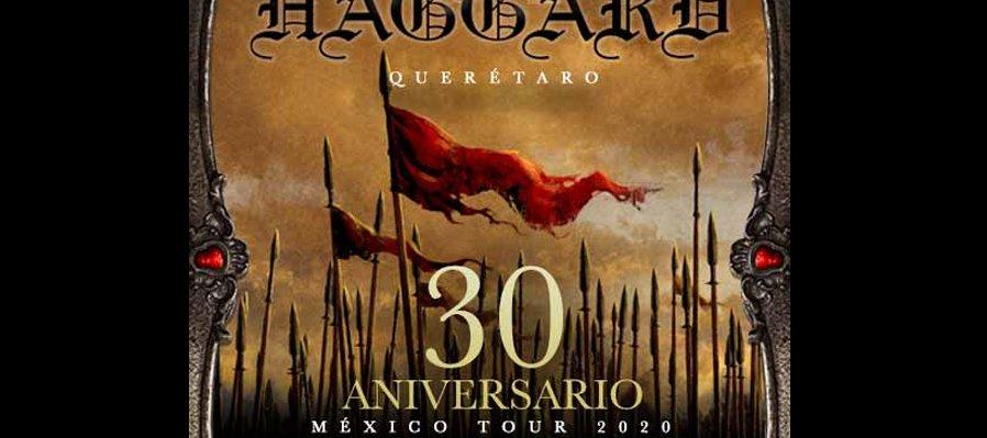 Haggard 30 Aniversario