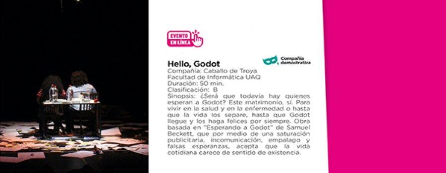 Hello, Godot