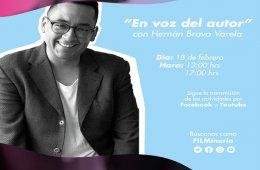 Cápsula: En voz del autor (I parte) con Hernán Bravo Va...