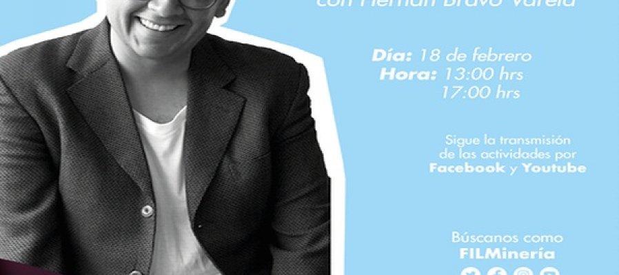 Cápsula: En voz del autor (II parte) con Hernán Bravo Varela