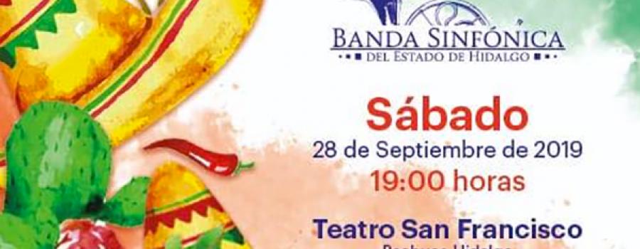 Concierto con la Banda Sinfónica del Estado de Hidalgo