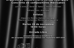 Concierto de Compositores Mexicanos