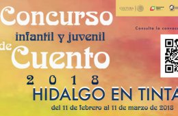 Concurso infantil y juvenil de cuento Hidalgo en tintas 2...