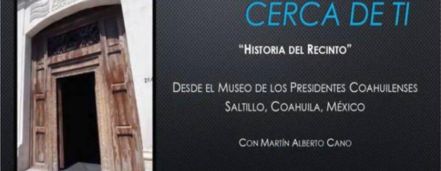 Museo de los presidentes. Historia del recinto