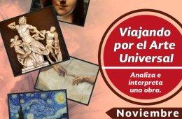 Viajando por el arte universal - Noviembre