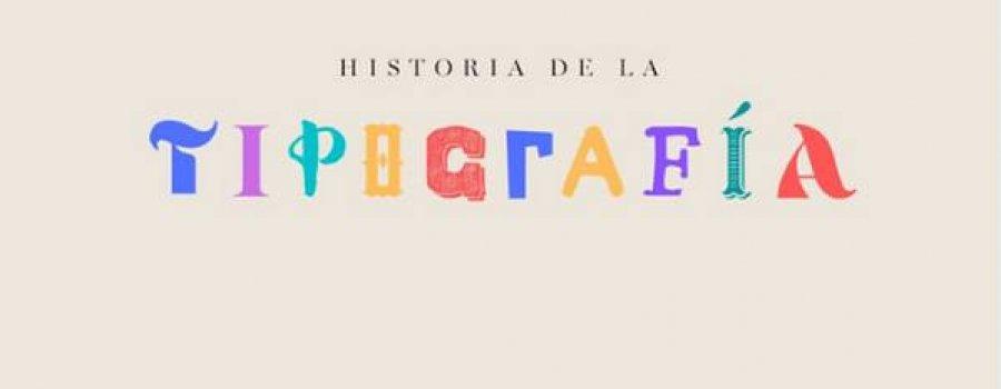 Charla: Historia de la tipografía