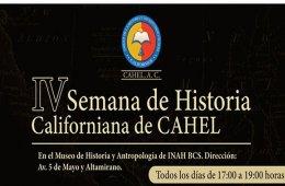 IV Semana de historia californiana