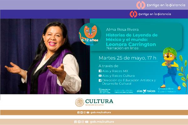 Historias de Leyenda de México y el mundo: Leonora Carrington (Narración oral)
