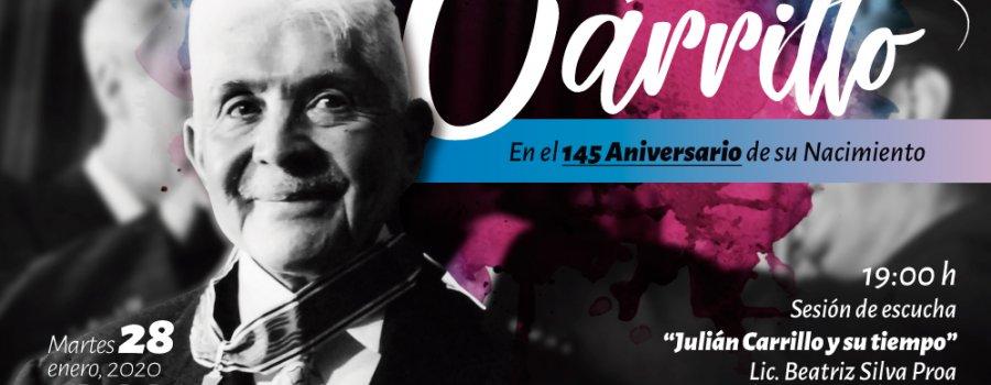 Homenaje a Julián Carrillo