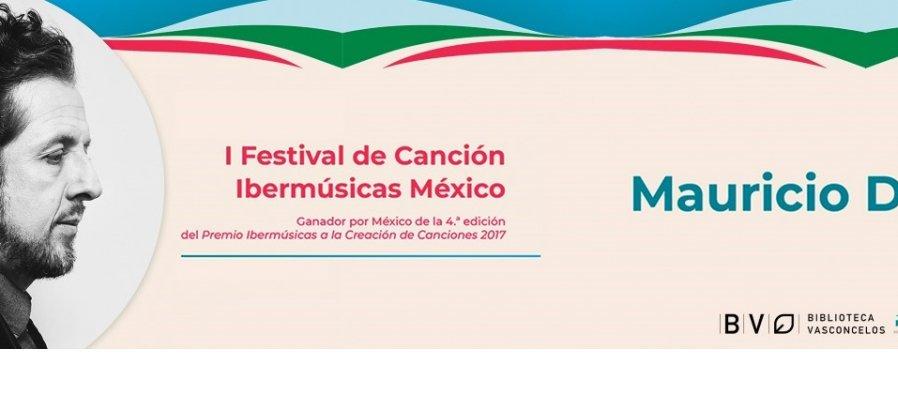 Concierto Festival de Canción Ibermúsicas México, Gustavo Mauricio Díaz Fernández