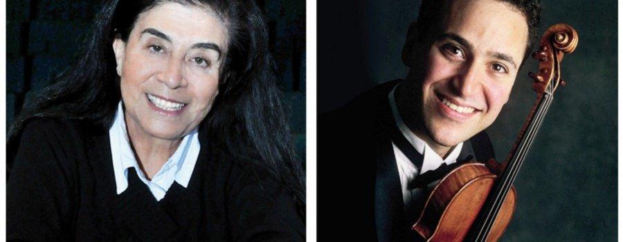 Adrián Justus y Guadalupe Parrondo