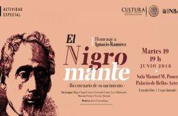Homenaje a Ignacio Ramírez El Nigromante