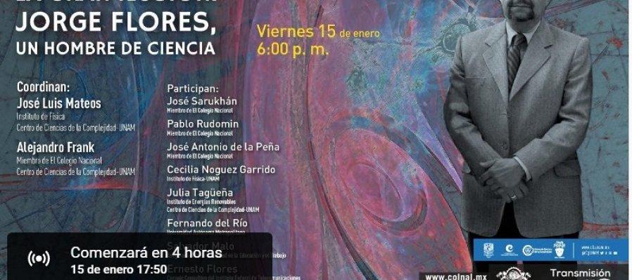 La gran ilusión: Jorge Flores, un hombre de ciencia