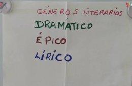 Metodología de enseñanza en tres géneros literarios