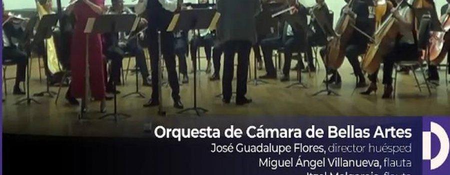 Concierto para dos flautas y orquesta. Mtro. Miguel Angel Villanueva e Itzel Melgarejo