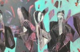 Alejandro Mojica (Artista plástico), charla sobre sus ob...
