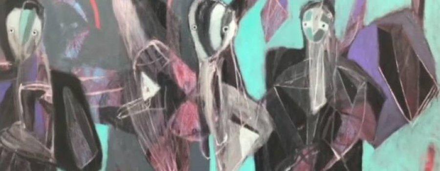 Alejandro Mojica (Artista plástico), charla sobre sus obras a través de los años