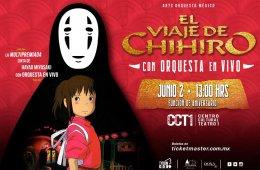 El viaje de Chihiro con orquesta en vivo