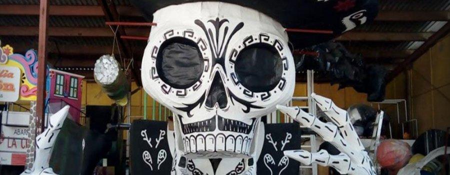 El Volador. Ofrenda homenaje a José Guadalupe Posada