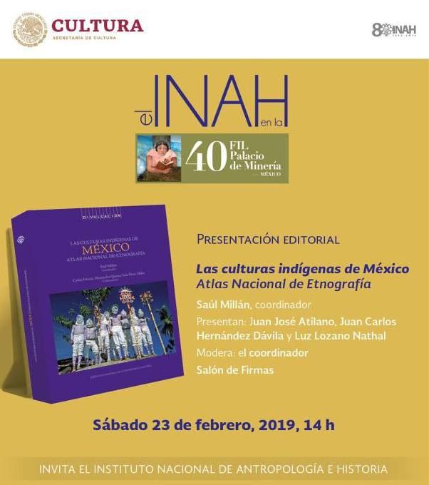 Las culturas indígenas de México. Atlas Nacional de Etnografía