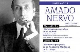 Homenaje a Amado Nervo, a cien años de su muerte
