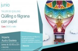 Quilling or Filigree with Paper